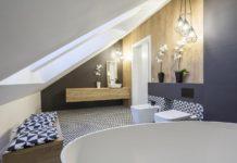 Łazienka na poddaszy - aranżacje łazienek