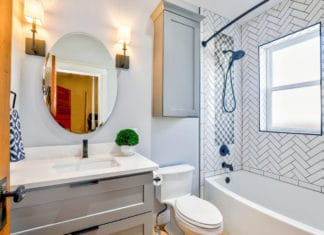 Malowanie ścian w łazience - wybór farby