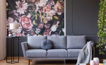 Kwiatowe kolory i akcenty w domu