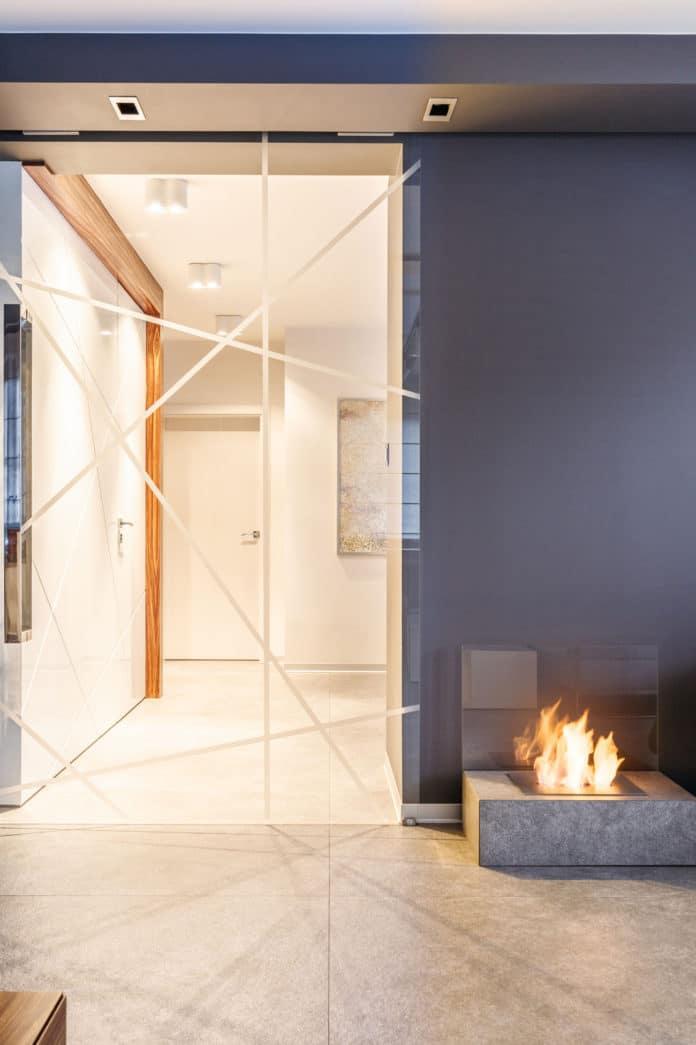 Drzwi szklane w domu