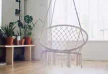 fotel podwieszany