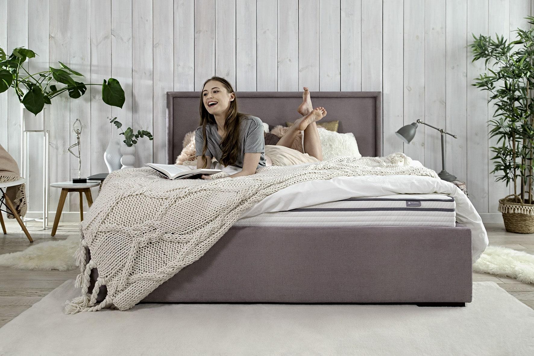 wybór materaca do spania