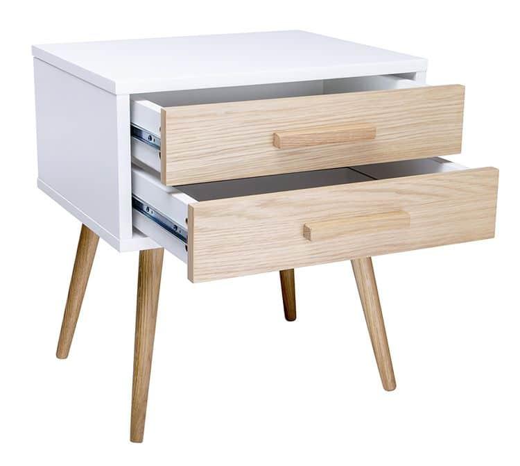 Nowoczesna szafka nocna z szufladami
