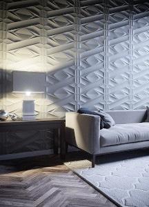 Ściany w salonie