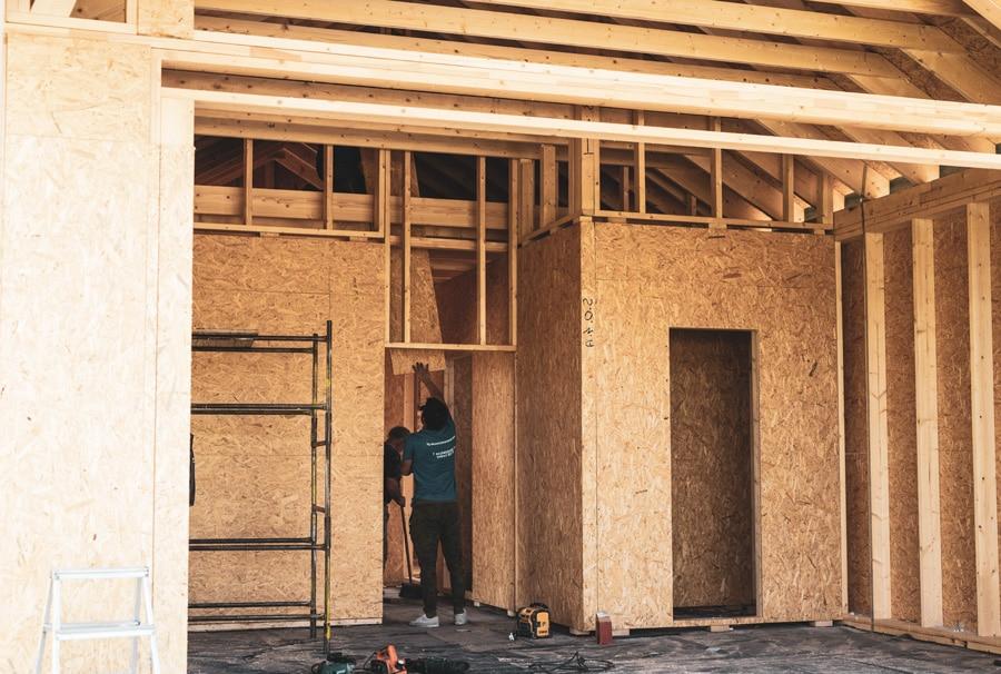 Budowa domów szkieletowych