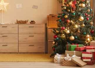 Sztuczna choinka świąteczna