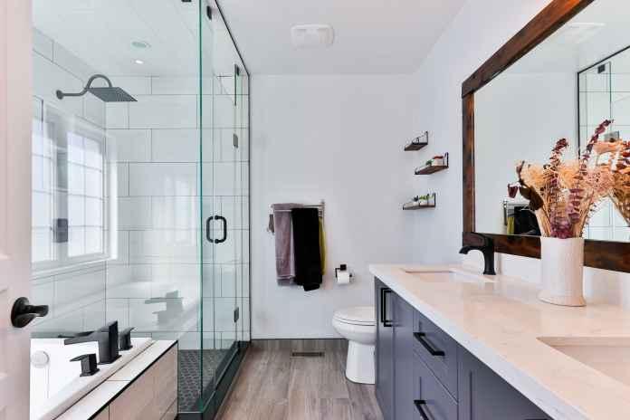 Modna łazienka w 2021