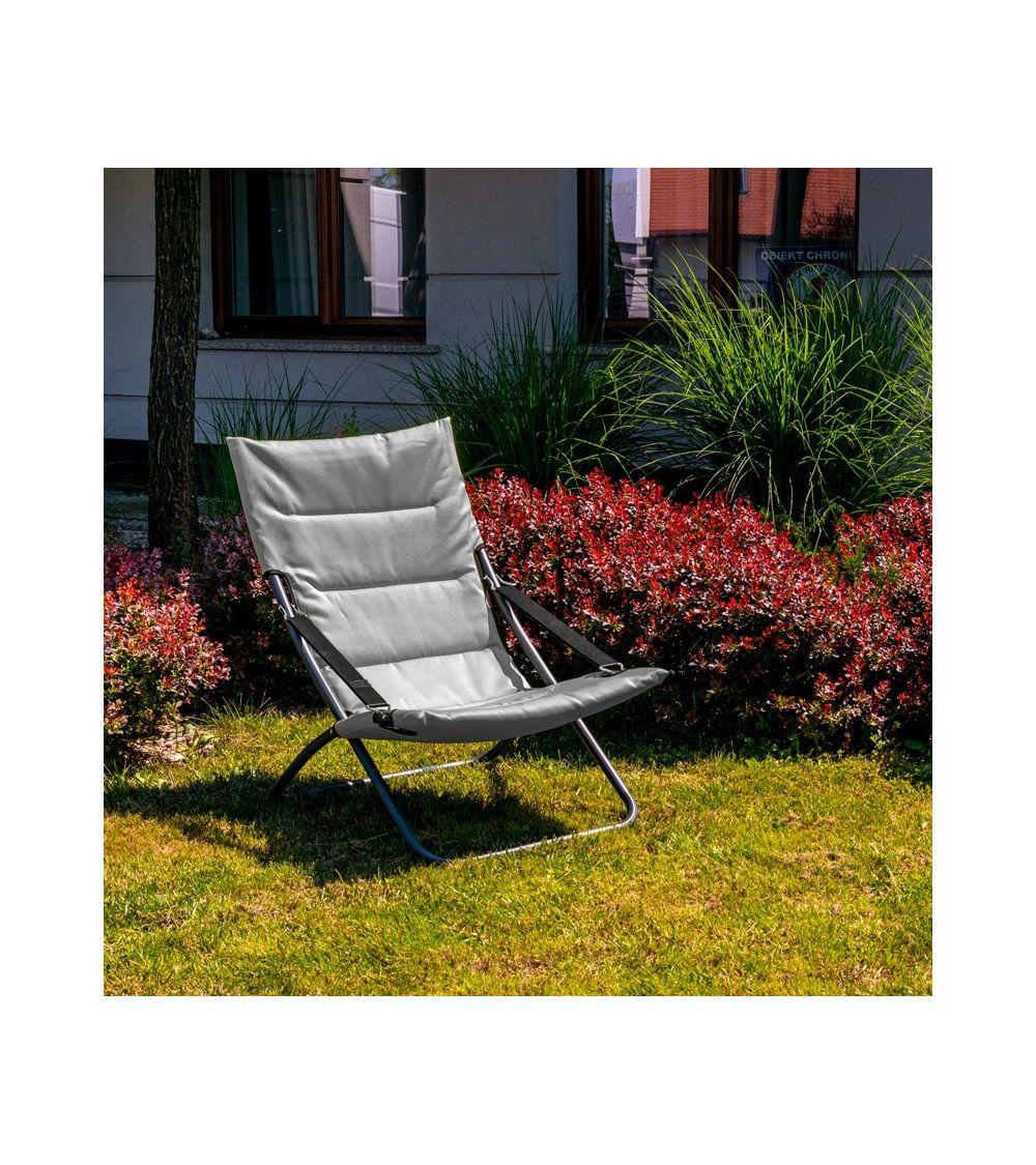 leżak ogrodowy - leżak