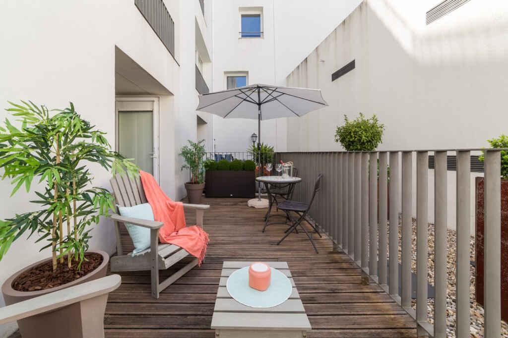 Balkon w mieszkaniu - aranżacja